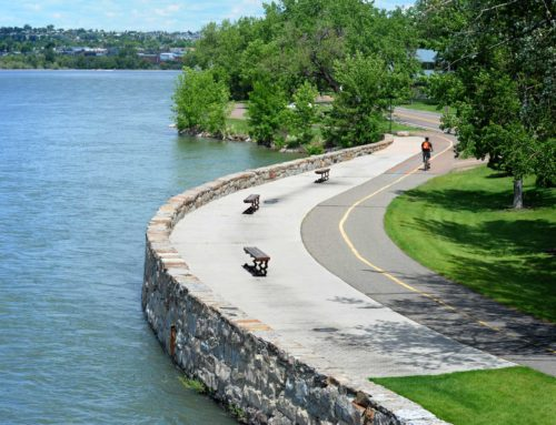 Formalizing River's Edge Trail Foundation's partnership with the City of Great Falls