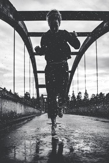 Running in Montana