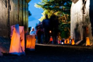 Luminaria Walk River's Edge Trail