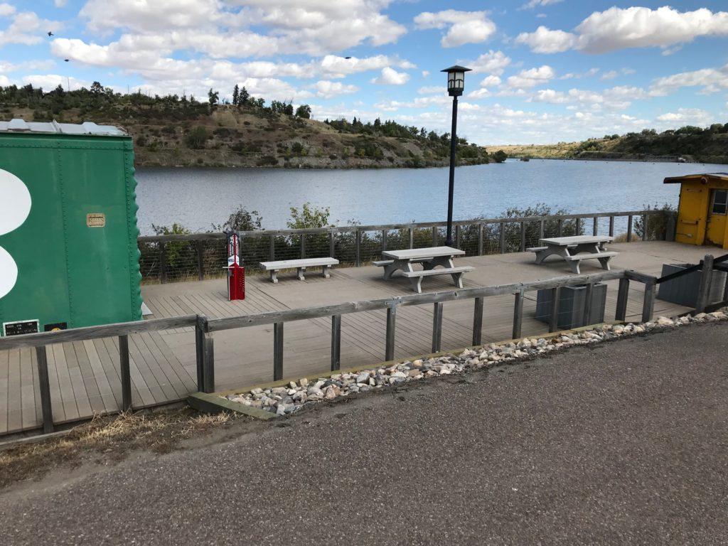 River's Edge Trail Bike Repair Station