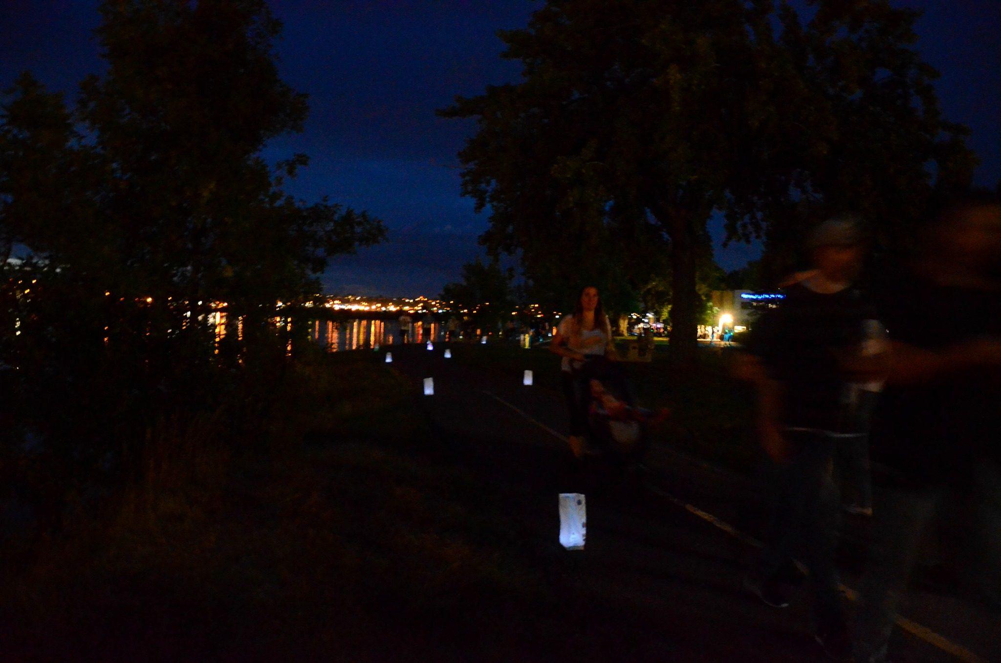 luminaria walk